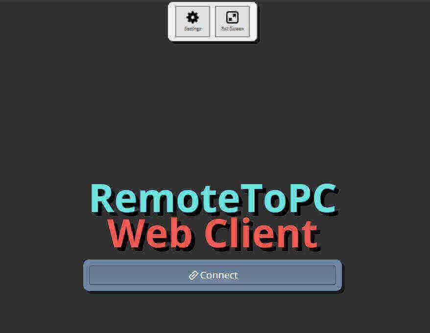 remote web client