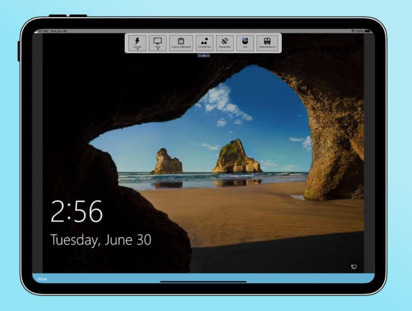 remotetopc tablet