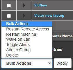 Bulk Select Functions